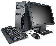 Lenovo ThinkCentre M57 Desktop - Intel Core 2 Duo E6550 2.33GHz - 1GB DDR2 SDRAM - 80GB - Combo Driv... (6075AGU)