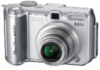 Canon PowerShot A630 Digital Camera