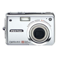 Pentax Optio A10 Digital Camera