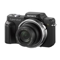 Sony CyberShot DSC-H3 8.1 Megapixel Digital Camera with 10x Optical Zoom + Lexar Media 2GB Platinum ...