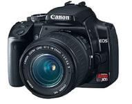 Canon Digital Rebel XTi 10.1MP Digital SLR Camera Digital Camera with EF-S 18-55mm f/3.5-5.6 Lens (Black) + Canon B...