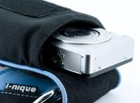 i-nique - Digital Camera case - Dude Bag - Small - (Blue) for Sony Cyber-shot (DSC-T1 T3 T30 T50 T3...