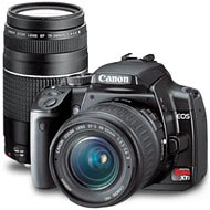 Canon EOS Digital Rebel XTi 2 lens Zoom Kit -Includes Canon 18-55mm & Canon 75-300mm Digital Camera