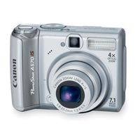 Canon PowerShot A590 Digital Camera