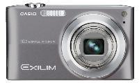 Casio Exilim Z200 10.1 Megapixel Digital Camera - Silver EXZ200SREBA