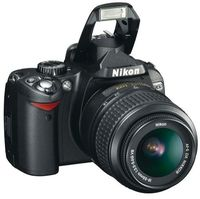 Nikon D60 Digital Camera with 18 - 55 mm lens