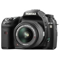 Pentax K20D SLR Digital Camera with 18-55mm and 50-200mm Lenses