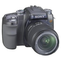 Sony DSLR-A100 K (alpha) Digital SLRCamera Digital Camera with 18-70 mm & 75-300 mm Two Zoom Lens Outfit