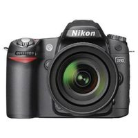 Nikon D40 6.1-Megapixel Digital SLR Camera 2-Lens Kit - Black Digital Camera