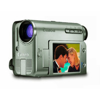 Canon Elura 60 Mini DV Digital Camcorder  1 33MP  14x Opt  280x Dig  2 5   LCD