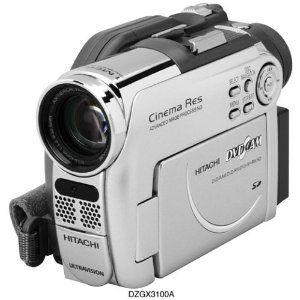 Hitachi DZ-GX3100A DVD Camcorder