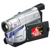 JVC GR-AXM18 VHS-C Camcorder   32MP  20x Opt  800x Dig  2 5  LCD