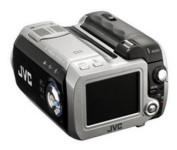 JVC Everio GZ-MC200 Flash Media Camcorder