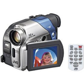 JVC GRD72 MiniDV Digital Camcorder w/16x Optical Zoom