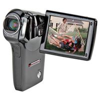 Sanyo VPC-CG65 6MP MPEG-4 Flash Memory Digital Camcorder (Black) Flash Media