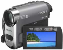 Sony Handycam DCR-HC48 Mini DV Digital Camcorder - PAL   69MP  25x Opt  2000x Dig  2 7  LCD