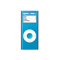 Apple Ipod Nano Second Gen. Blue (4 GB) MA428LLA MP3 Player