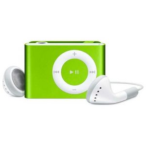 Apple iPod Shuffle Second Gen. (1 GB, MA952LL/A) MP3 Player