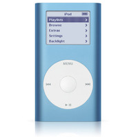 Apple iPod mini Blue (4 GB - MP3 Player (M9436LL/A)