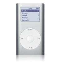 Apple iPod mini Silver (4 GB - MP3 Player (M9160LL/A)