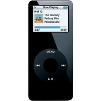 Apple iPod nano Black (1 GB) MP3 Player (MA352LL/A)
