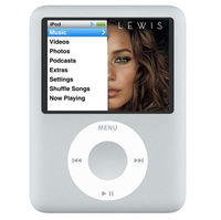 Apple iPod nano Second Gen. (Silver) (8 GB 2000 Songs) MP3 Player
