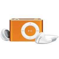 Apple iPod shuffle Second Gen. Orange (1 GB) MP3 Player (MA953LL/A)