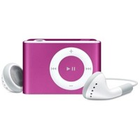 Apple iPod shuffle Second Gen. Pink (1 GB) MP3 Player (MA947LL/A)