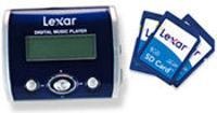 Lexar LDP-200 (1 GB) MP3 Player
