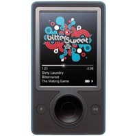 Microsoft Zune Black (30 GB) Digital Media Player (JS8-00001)