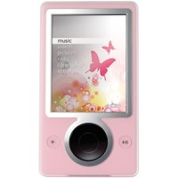 Microsoft Zune pink (30 GB) Digital Media Player