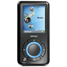 SanDisk Sansa E280 (8 GB, 2000 Songs) MP3 Player