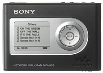 Sony Network Walkman NW-HD3 20 GB MP3 Player