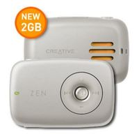Creative Technology ZEN Stone Plus (2 GB, 500 Songs) MP3 Player (70PF219100EE1)