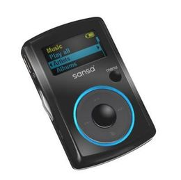 SanDisk Sansa Clip (1 GB, 250 Songs) MP3 Player (SDMX11R-1024K-A70)