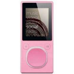 Microsoft Zune Pink (8 GB, 2000 Songs) Digital Media Player