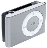Apple iPod Shuffle Silver (1 GB) MP3 Player (MA564ZB/A)