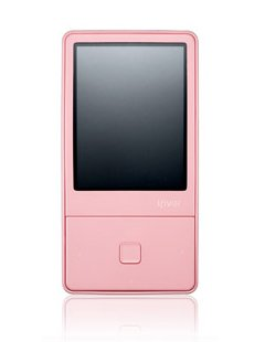 iRiver iriver E100 4 GB Multimedia Player  Pink
