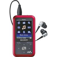 Sony NWZ-S716 4GB  Portable Digital Music Player Red