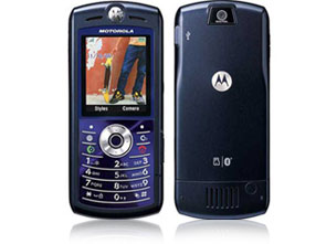 Motorola SLVR L7 Cellular Phone