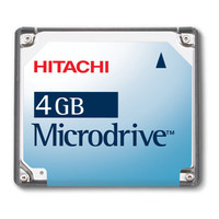 Hitachi Microdrive MD4GBBP 4 GB CF+ Hard Drive