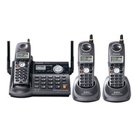 Panasonic KX-TG5673B Trio Cordless Phone