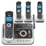 VTech DS4121-3 Cordless Phone  5 8GHz  Answering Machine  Caller ID  Speakerphone
