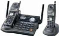 Panasonic KX-TG5672B Cordless Phone  5 8GHz  Answering Machine  Caller ID  Speakerphone