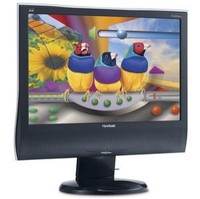 ViewSonic VG2030wm (Black, Silver) LCD Monitor