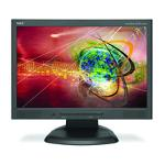 NEC AccuSync LCD223WXM (Black) Monitor