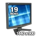 Acer X193W (Silver) LCD Monitor
