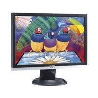 ViewSonic VA2026w (Black, Silver) Monitor