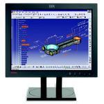 IBM ThinkVision L200p (Black) 20.1 inch LCD Monitor