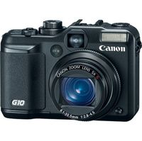 Canon Powershot G10 Black Digital Camera